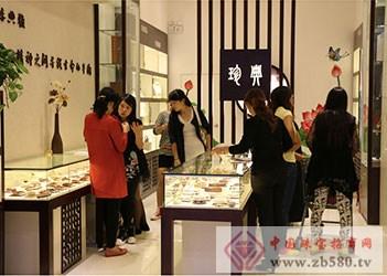 珍典红木文化饰品加盟店展示