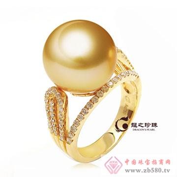 龙之珍珠-南洋白珠珍珠戒指02