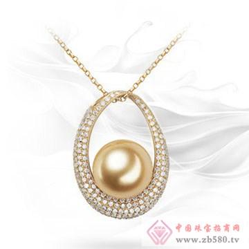 龙之珍珠-南洋金珠吊坠01