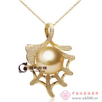 龙之珍珠-南洋金珠吊坠08