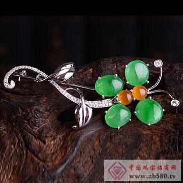 周大昌珠宝-翡翠胸针