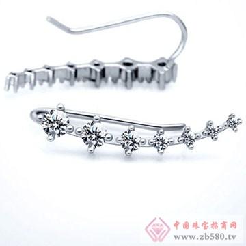 银工场珠宝耳钉4