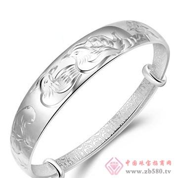 九九银饰-纯银手镯05
