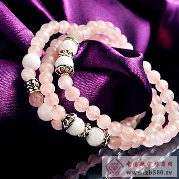 金凤凰珠宝粉晶手链