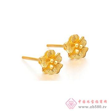 金诗铂珠宝耳钉1