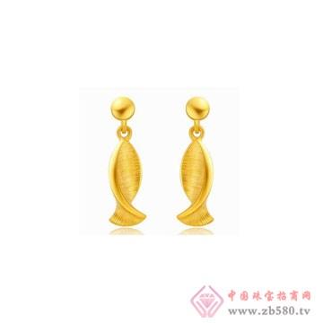 金诗铂珠宝耳钉2