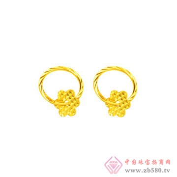 金诗铂珠宝耳钉3