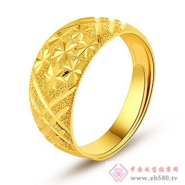 环融金银黄金戒指1