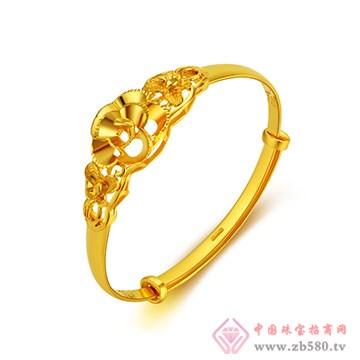 环融金银黄金戒指2