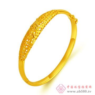 环融金银黄金戒指3