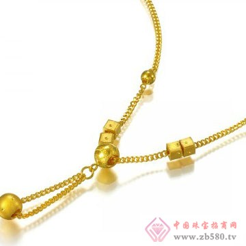 聚鑫源珠宝项链4