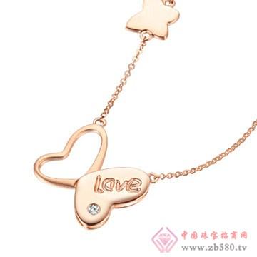 周六福珠宝-钻石项链01