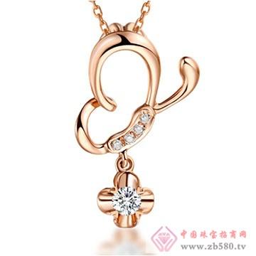 周六福珠宝-钻石项链02