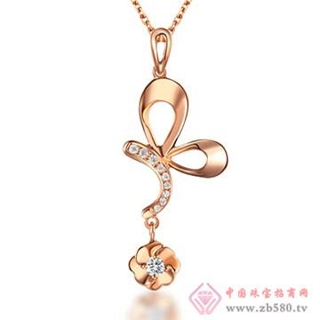 周六福珠宝-钻石项链03
