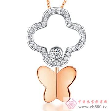 周六福珠宝-钻石项链05