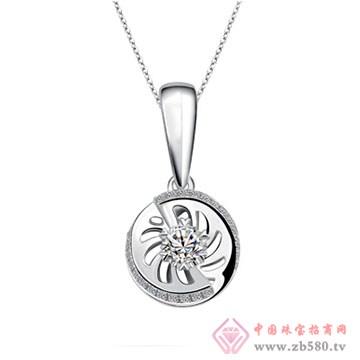 周六福珠宝-钻石项链06