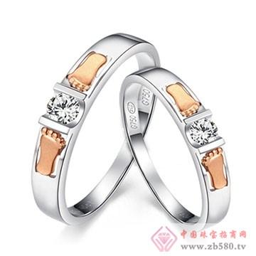 周六福珠宝-钻石情侣对戒02