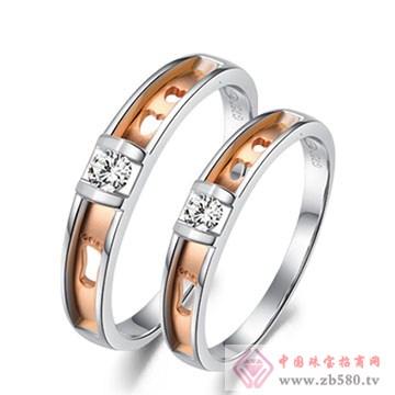 周六福珠宝-钻石情侣对戒03