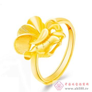 周六福珠宝-黄金戒指01