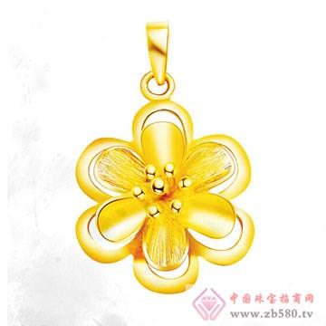 周六福珠宝-黄金吊坠02