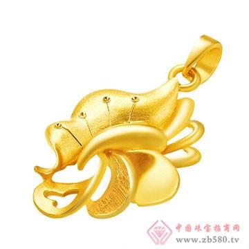周六福珠宝-黄金吊坠01
