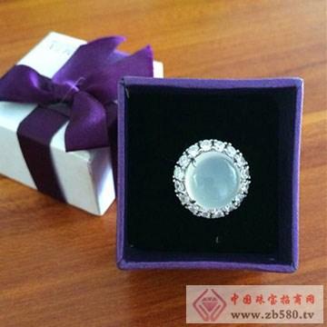 嘉图珠宝-白玉髓戒指