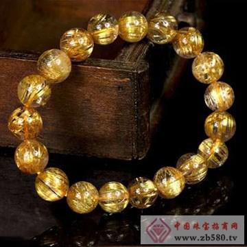 嘉图珠宝-金发晶手链
