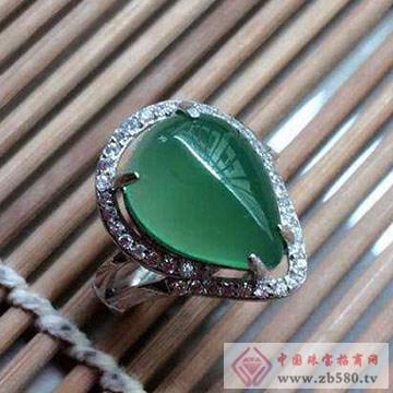 嘉图珠宝-绿玉髓戒指