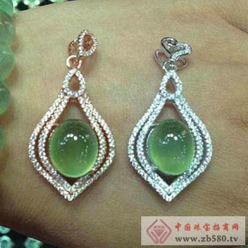 嘉图珠宝-葡萄石吊坠