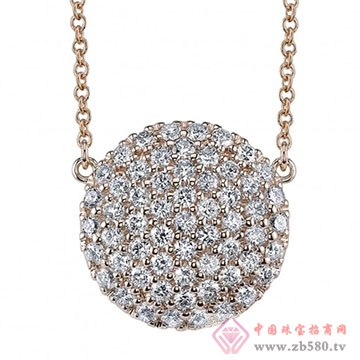 爱积珠宝-钻石项链01