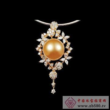 珍珠珠宝首饰设计图手稿