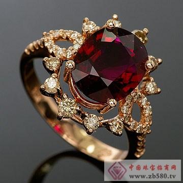 宝丽莱珠宝-碧玺戒指02