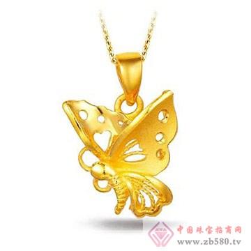 畅爱今生-黄金吊坠5