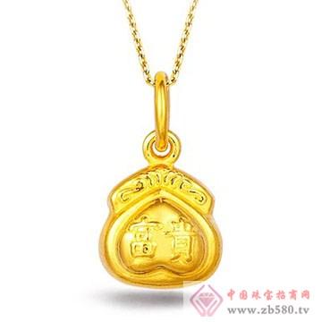 畅爱今生-黄金吊坠7