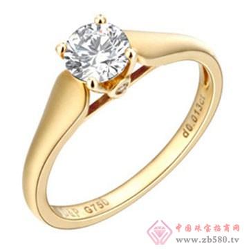 京华钻石戒指