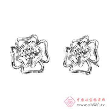 京华钻石耳钉1