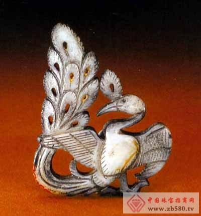 唐代凤凰花纹图案