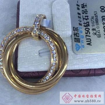金谷金黄金珠宝钻石饰品1
