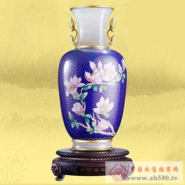 制尊大师-白玉兰花瓶