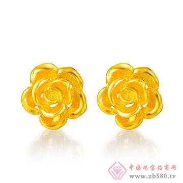 央福珠宝耳钉
