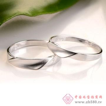 俏东方银饰-纯银情侣对戒07