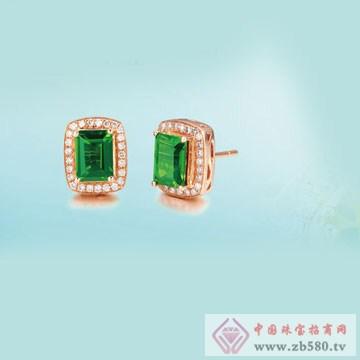 彩尚珠宝-耳钉1