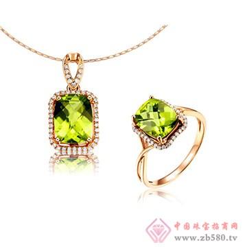 彩尚珠宝-橄榄石套装