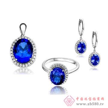 彩尚珠宝-坦桑石套装