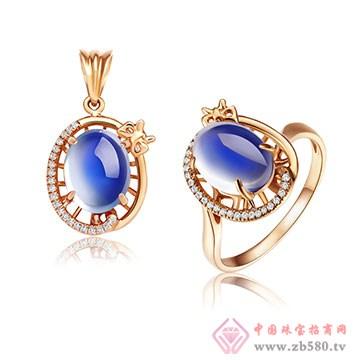 彩尚珠宝-月光石套装