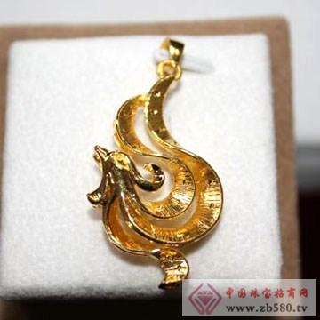 锦圣琦-黄金吊坠06