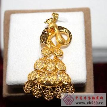 锦圣琦-黄金吊坠05