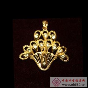 锦圣琦-黄金吊坠12