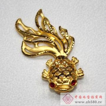 锦圣琦-黄金吊坠02