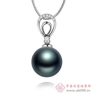 物语珍珠-大溪地黑珍珠吊坠03